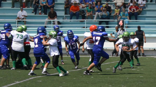 Borregos Salvajes vs. Titanes - Pre-Infantil (4-May-13) G