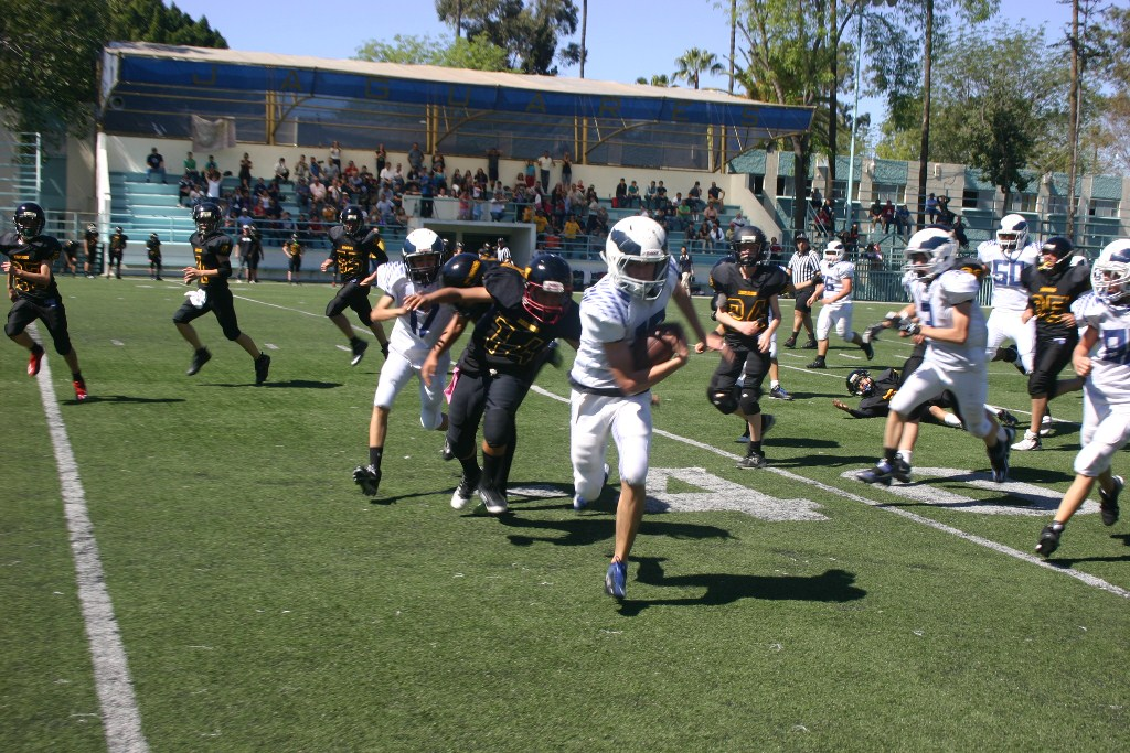 Zorros ENS vs. Águilas - Infantil Mayor (8-Mar-14) AÑ