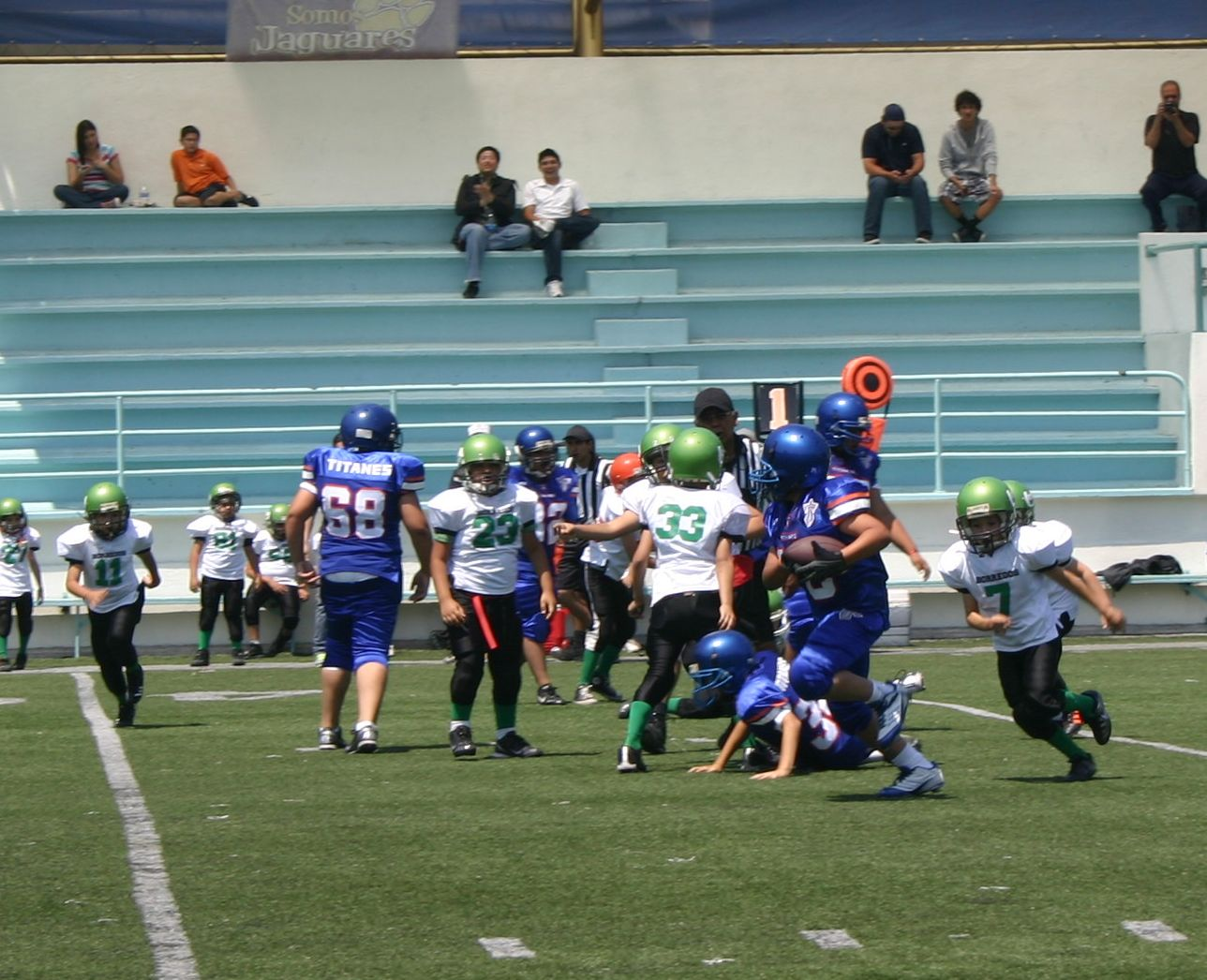 Borregos Salvajes vs. Titanes - Pre-Infantil (4-May-13) Q