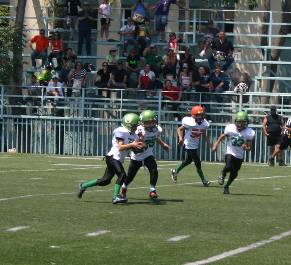 Borregos Salvajes vs. Titanes - Pre-Infantil (4-May-13) RR