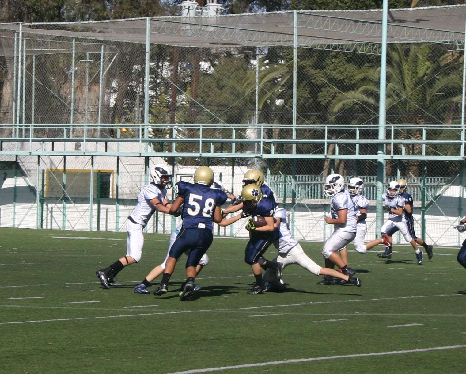 Águilas vs. Jaguares - Infantil Mayor (15-Mar-14) BI