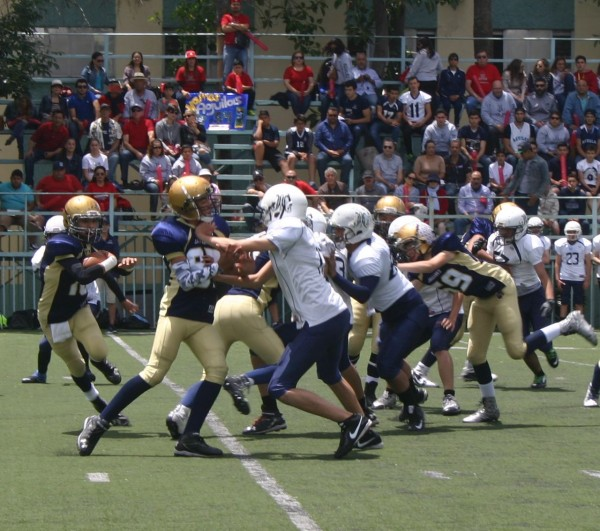 XXI Tazón Infantil Mayor - Águilas vs. Jaguares (21-May-16) AL